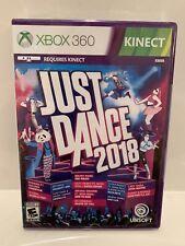 Just Dance 2018 (Microsoft Xbox 360) BRAND NEW SEALED!