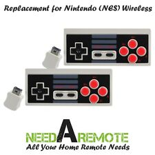 2x Wireless Video Game Remote Controller for Nintendo NES Mini Classic Edition