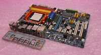 Gigabyte GA-MA770-UD3 Socket AM2+ AM3 DDR2 PCI-E Motherboard and Backplate