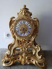 Pendule Bronze doré fin 19eme