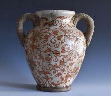 An Antique Faience Italian Stoneware Vase