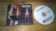CD pop Kirsten pecoraro-Online-fièvre (1 chanson) MCD professionnel star Music sc