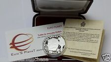 2014 SAN MARINO 5 euro Ag proof Ayrton SENNA 20 anni Williams Imola Formula 1