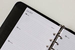 2021 Week to View Refill.  | A5 | January & Tax Year (Fits Filofax)