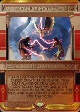 Chain lightning PREMIUM / FOIL -  Amonkhet Invocations mtg