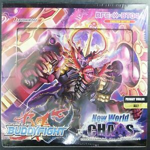 Buddyfight: New World Chaos Booster Box sealed - Cards #B3