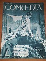 """COMOEDIA - 15 Luglio-Agosto 1929 - Scena """" IL CARRO DI MELE"""""""