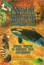 Animal Whispers Empowerment Cards by Madeleine Walker NEW & Sealed