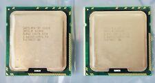 PAIR INTEL XEON X5650 SLBV3 6-Core 2.66GHz 12MB 6.40GT/s LGA 1366 PROCESSOR CPU