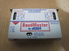 Dutec BaudMaster BM-100 Isolated Serial Converter for RS-232/422/485  9-24 V