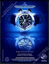 2008 Jaeger LeCoultre Master Compressor Diving Pro Geographic watch photo ad