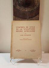 Tribal Exotics African Art book - Kjersmeier 1935 Mask Figure Sculpture Statue
