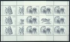GREENLAND. 2003. Sled Dogs mini-sheets, MNH (SM3-4)