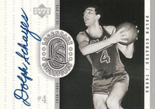 DOLPH SCHAYES 1999-2000 UD Legendary Signatures Auto SIXERS