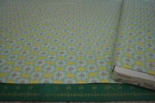 FREE SPIRIT DENA DESIGNS NEW FABRIC DF10 YELLOW BLOSSOMS  2 & 7/8 yd End of Bolt