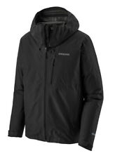 Patagonia Mens Calcite Jacket Sz Sm Black Gore Tex EUC LN