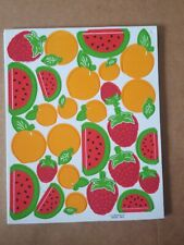 Foam Stickers Fruits raspberry watermelon Brand: Otc