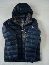 Mens Abercrombie & Fitch Quilted Water Resistant Lightweight Down Jacket Size M