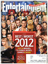 Entertainment Weekly Magazine December 28 2012 January 4 2013 Best & Worst Of
