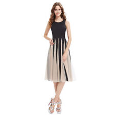 Stripes Hand-wash Only Formal Dresses for Women
