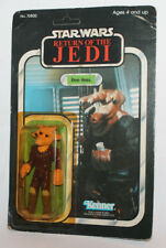 Kenner Star Wars ROTJ Ree-Yees Carded Japan Tsukuda Return of the Jedi Crack