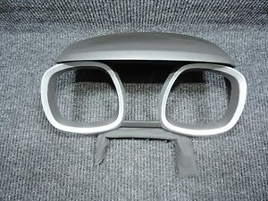 2010-2015 Equinox Gauge Cluster Instrument Surround Trim Cover Rings GREAT Cond