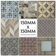 Mosaic Tile Stickers Decals Kitchen Transfers Stone Brick 150mm or 100mm M37