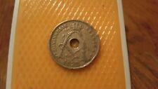 Belgium 1922 - 25 Centimes coin - King Albert I - Koninkrijk Belgie.