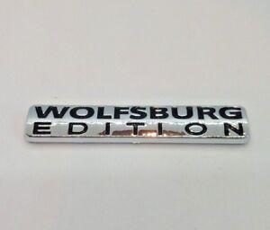 ⭐🇫🇷 NEUF MONOGRAMME WOLFSBURG EDITION VW GOLF VOLKSWAGEN LOGO BADGE NEW SIGLE
