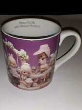 Moms Fill Life With Precious Moments Large Tall Coffee Mug by 1995 Mother's Day