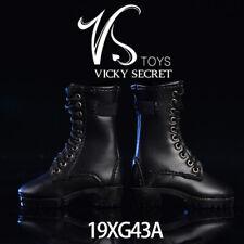 VSTOYS 18XG35 Rivet Boots 1//6 Scale High-heels Shoes Female Shoes Boots Model