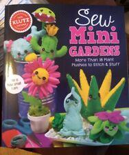 Klutz~ Sew Mini Gardens~ Sewing Kit cactus succulents felt projects craft kit