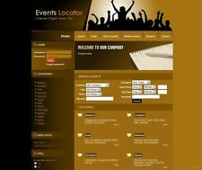 PROFITABLE EVENTS LOCATOR WEBSITE + GOOGLE ADSENSE