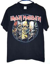 Iron Maiden T-Shirt | Official Retro Eddie Mascot | Mens Medium