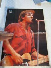 Mega Rare Portuguese Poster Bruce Springsteen
