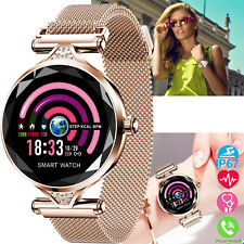 Women Luxury Smart Watch Fitness Tracker Heart Rate for Lady Birthday Gift