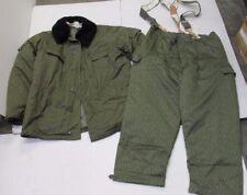 Original East German DDR Strichtarn Winter Uniform Coat Pants Suspenders M56 XL