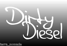 Dirty Diesel Sticker, Decal - drift euro jdm jap car decal