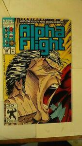 Alpha Flight 106 Marvel 2nd Printing Q33