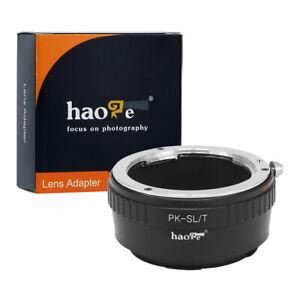 Manual Lens Adapter for Pentax K PK Mount Lens to Leica Panasonic L Mount Camera
