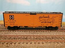 Ho Scale Athearn Santa Fe 35829 Scout 40' Steel Reefer Rtr O/B