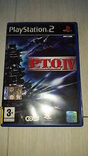 P.T.O IV (PACIFIC THEATER OF OPERATIONS) PS2 PLAY STATION 2