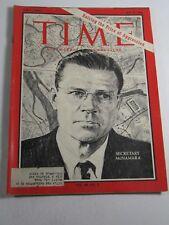 Time Magazine- July 8, 1966- Secretary McNamara