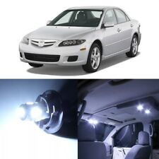 10 x White LED Interior Lights Package For 2003 - 2008 Mazda 6 + PRY TOOL
