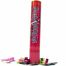 1x Large (12 Inch) Confetti Cannons Air Compressed Party Poppers Celebration
