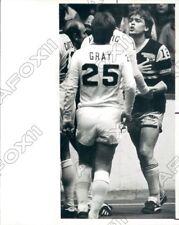 1984 Chicago Sting Karl Heinz Granitza vs Cosmos Dragan Vujovic Press Photo