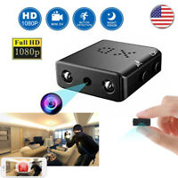 HD 1080P Mini Hidden Spy Camera Night Vision Motion Security DVR Video Camcorder