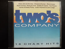 TWO`S  COMPANY -  VARIOUS,   CD  1991 , POP, ROCK :  BLANCMANGE, SHARPE & NUMAN,