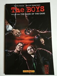 The Boys TPB (2002) Volume 1 - Soft cover, The Name of the Game
