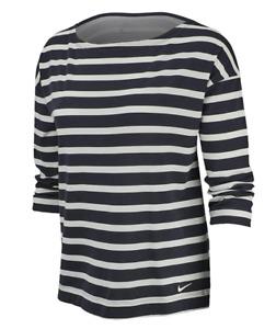 NIKE Women Dri Fit UV 3/4 Sleeve Shirt AV3676 015 - Med New